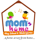 mom's home playschool logo